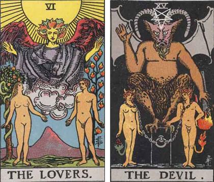 恋人と悪魔