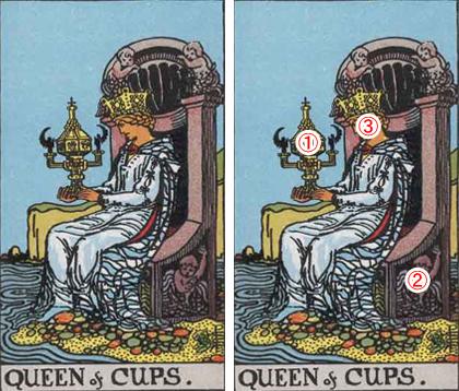 QUEEN of CUPS/カップのクイーン