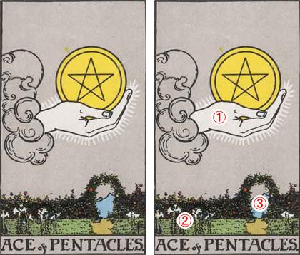 ACE of PENTACLES/ペンタクルのエース