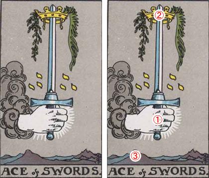 ACE of SWORDS/ソードのエース