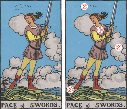 PAGE of SWORDS/ソード