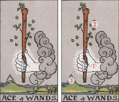 ワンドのエースのタロットカード【意味と象徴を徹底解説】